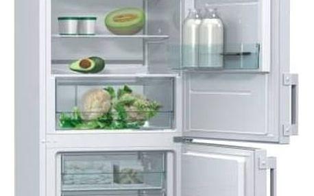 Kombinace chladničky s mrazničkou Gorenje Essential RK6192AW bílá + Doprava zdarma