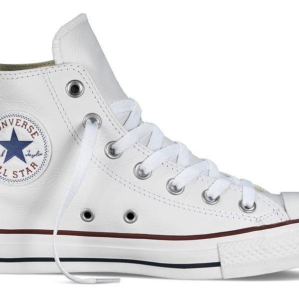 Converse bílé dámské boty Chuck Taylor All Star Leather White
