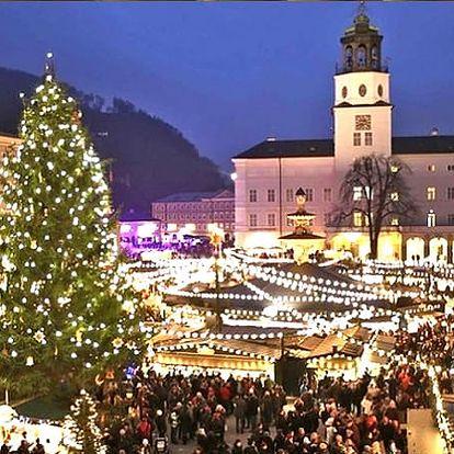 1denní adventní zájezd do rakouského Salzburgu pro 1 osobu s CZ AD dopravní.
