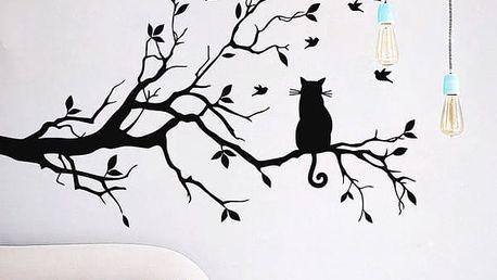 Dekorační samolepka na zeď Cat