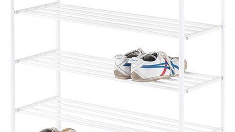 Regál na boty alexa 4, 80/104/30 cm