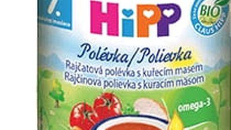 6x HIPP BIO Rajčatová polévka s kuřecím masem (190 g)