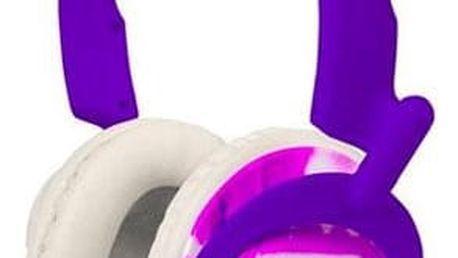 Sluchátka Koss RUK50, fialová