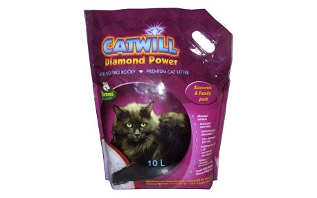 Kočkolit Catwill Diamond Power 10l