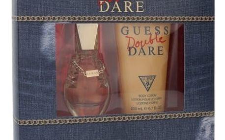GUESS Double Dare dárková kazeta pro ženy toaletní voda 30 ml + tělové mléko 200 ml