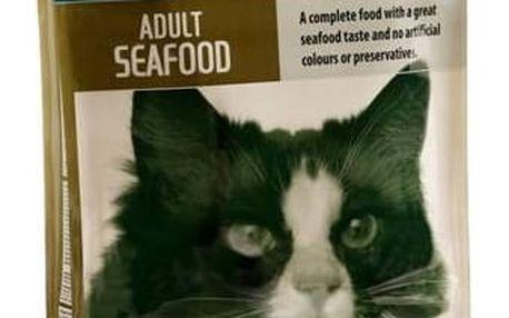 Granule CHICOPEE Cat Adult Seafood 15 kg + Doprava zdarma