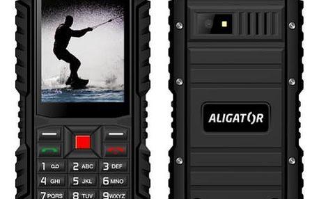 Mobilní telefon Aligator R12 eXtremo (AR12BB) černý