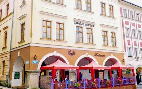 Gurmánský pobyt v Grand Luxury Hotelu pro dva