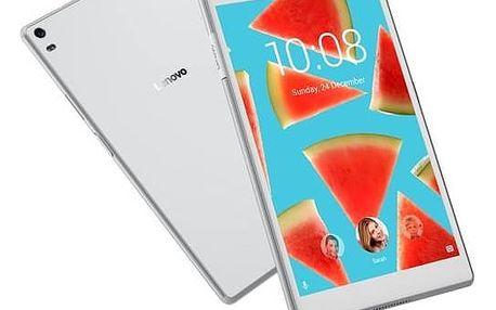 """Dotykový tablet Lenovo TAB4 8"""" PLUS LTE (ZA2F0078CZ) bílý + Doprava zdarma"""