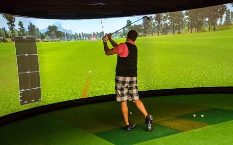 Simulátory ve STEPU: Balíček 10 vstupů na indoor golf za exkluzivních 2450 Kč!