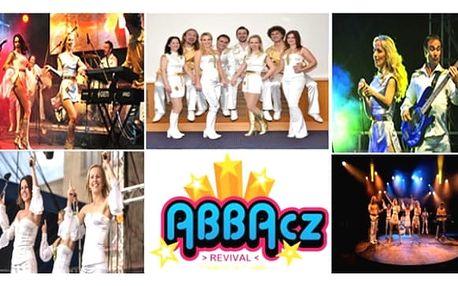 ABBA revivals vynikající skupinouABBACZv unikátním objektuhotelu Internationalv Praze26.11.2017. Osm skvělýchhudebníků vám předvedeenergickou show, 100 % live, podpořenou perfektními hity skupiny ABBA. Koncert si užijete2x 45min., můžetezpívat,