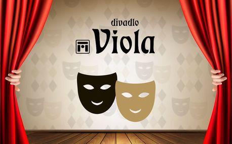2 vstupenky do Divadla Viola s 30% slevou