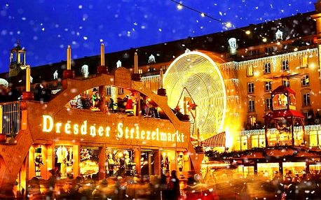 Zájezd do adventních Drážďan s možností nákupu v Primarku pro 1