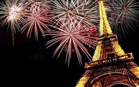 4-denní Silvestrovský zájezd do Paříže za 2390 Kč za osobu