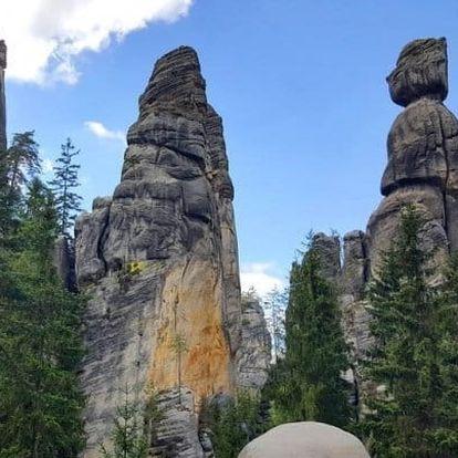 Adršpach: dovolená v Broumově s polopenzí