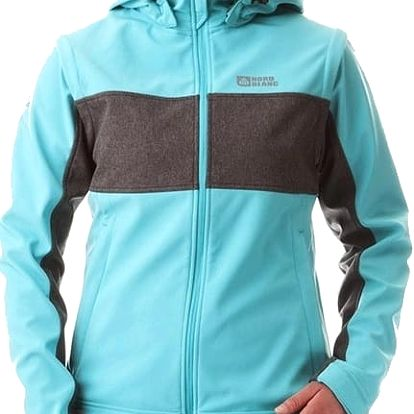 Bunda NordBlanc Softshell NBWSL5858 Favourite pool blue L