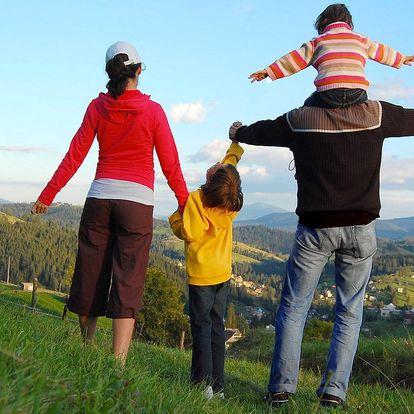 Pohodová rodinná dovolená v Beskydech