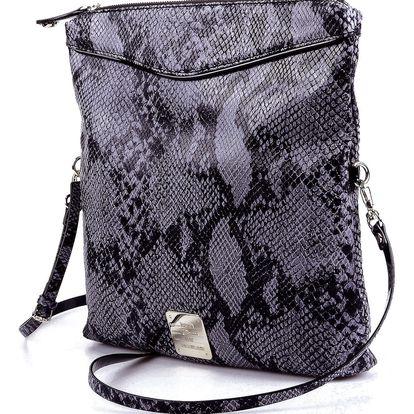 Dámská kabelka Just Cavalli, hadí vzor