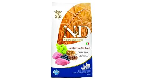 Granule N&D Low Grain DOG Adult Lamb & Blueberry 12 kg + Doprava zdarma