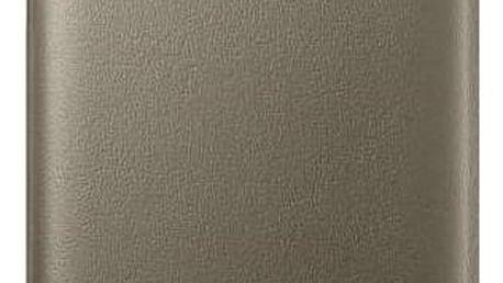 Pouzdro na mobil flipové Samsung LED View pro Galaxy S7 Edge (EF-NG935P) (EF-NG935PFEGWW) zlaté