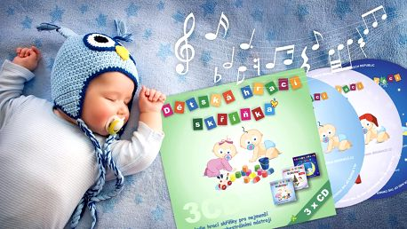 Dětská hrací skříňka – hudba pro nejmenší
