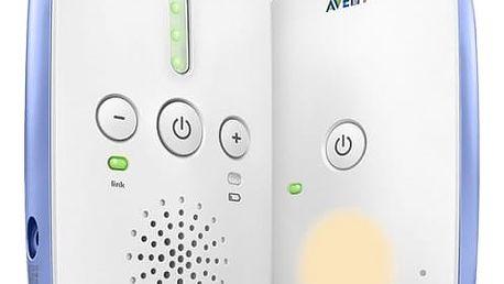 Dětská elektronická chůva Philips AVENT SCD501/00 bílá/modrá