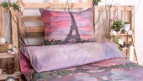 XPOSE ® 3D bavlněné povlečení PAŘÍŽ - ČERVÁNKY 140x200, 70x90