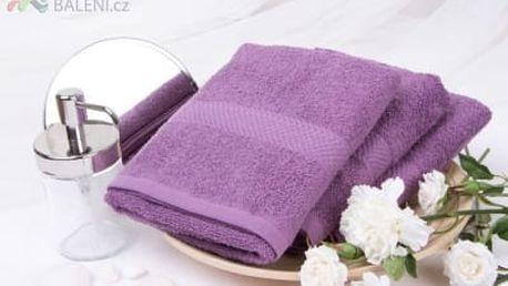 XPOSE ® Froté ručník VERONA - fialová 50x90 cm