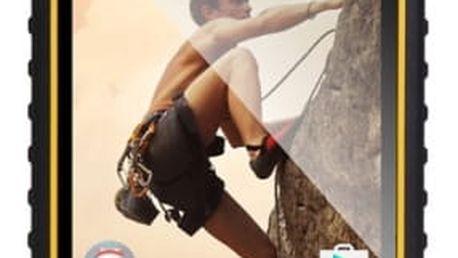 Mobilní telefon Evolveo StrongPhone Q9 (SGP-Q9-Y) černý/žlutý