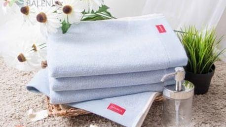 Night in Colors Froté ručník ANNIE - světle modrá 50x90 cm