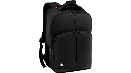"""WENGER LINK - 16"""" batoh na notebook, černý - 601072 + Stylový bezdrátový reproduktor Connect IT CI-823 v ceně 499,- Kč zdarma!"""