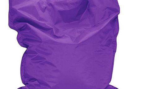 Sedací vak BulliBag, fialový, 100x70 cm