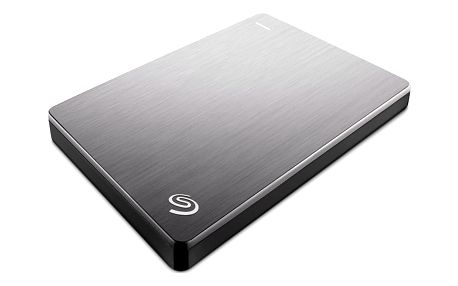 Seagate BackUp Plus Slim Portable 2TB, stříbrná - STDR2000201