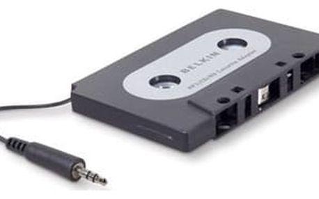 Belkin kazetový adaptér, univerzální 3,5mm jack, černý - F8V366bt