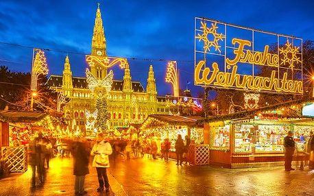 Celodenní zájezd pro 1 do adventní Vídně s prohlídkou města