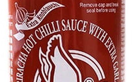 Chilli omáčka Sriracha hot s česnekem 730 ml