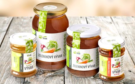 Vývary plné vitamínů a Krouhanka od českého výrobce