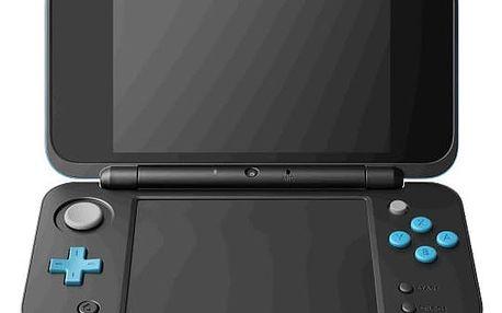 Nintendo New 2DS XL černá/tyrkysová - NI3H97210