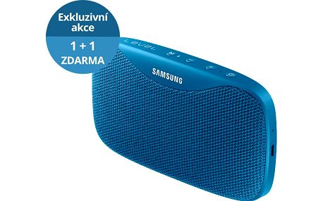 Samsung Bluetooth Level Box Slim, modrý - EO-SG930CLEGWW + Zdarma Samsung Bluetooth reproduktor Level Box Slim, modrý (v ceně 2199,-)