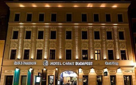 Dovolená Budapešť: ubytování a snídaně