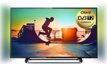 Televize Philips 43PUS6262/12 stříbrná