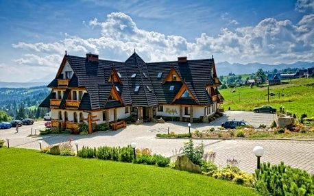 Polské Tatry s polopenzí a wellness