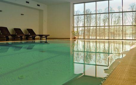 Hotel Orsino**** na břehu Lipna s wellness a polopenzí