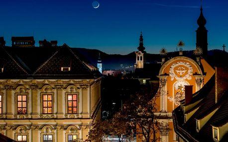 Adventní trhy ve štýrském Grazu z Moravy