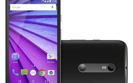 Mobilní telefon Motorola Moto G 8 GB (SM4269AE7T1) černý Software F-Secure SAFE 6 měsíců pro 3 zařízení v hodnotě 999 Kč + DOPRAVA ZDARMA