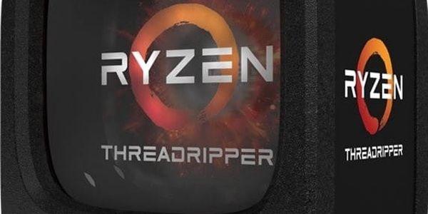 AMD Ryzen Threadripper 1900X - YD190XA8AEWOF + DVD-R/+R Asus SDRW-08D2S-U Lite, externí, černá