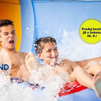Aqualand Moravia: vstup o víkendu i ve všední dny, varianty s wellness