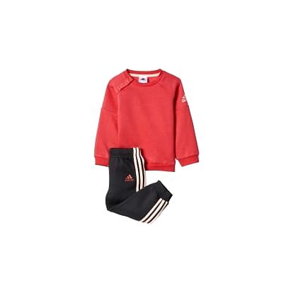 Adidas I SP CREW JOGG   BP5289   Černá, Červená   92