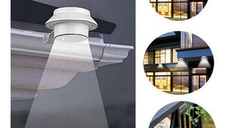 Solární venkovní LED světlo
