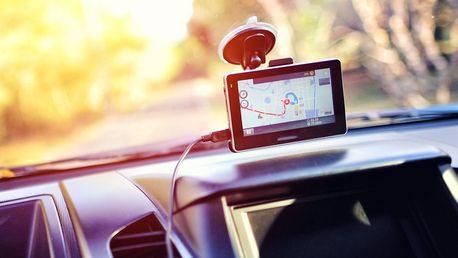Zapůjčení GPS navigace na den i delší cesty